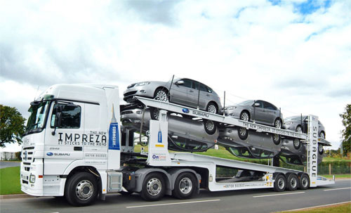The new Impreza ad